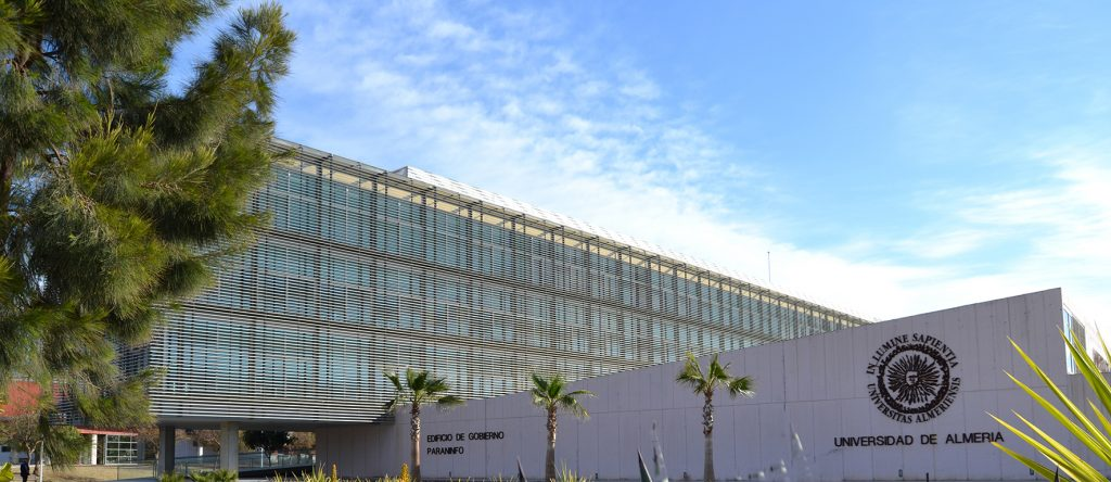 Imagen de la Universidad de Almería, donde se celebra el curso Experto para Gestor tributario y fiscal.