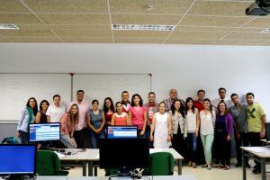 Alumnos de la edición 2017-2018 del curso experto de Ruano Formación y la Universidad de Almería.